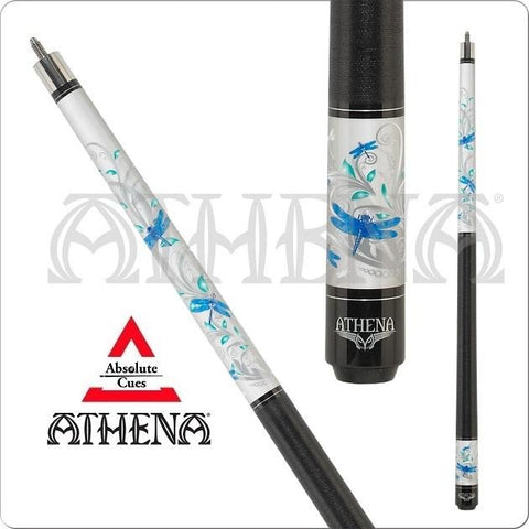 Athena Pool Cues - Woman Pool Cues - ATH46 - Dragonflies - ABSOLUTE CUES
