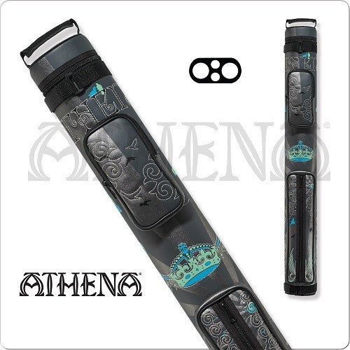 Athena Cue Case - Cue Case - ATHC05 - 2x2 Stitch Crown Hard Case - absolute cues