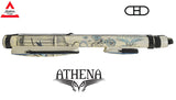 Athena Cue Case - 2x2 Hard Case - ATHC10 - Blue Freedom embroidery
