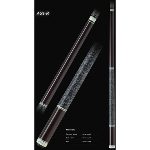 MEZZ Pool Cues - AXI Series - AXI-R - WX700 Shaft, Wavy Joint - absolute cues