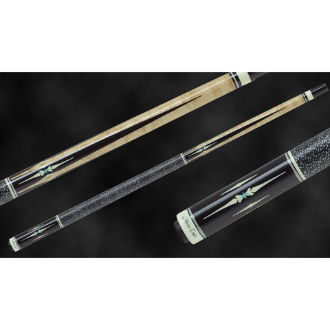 MEZZ Pool Cues - AXI Series - AXI-158 - WX700 Shaft, Wavy Joint - absolute cues