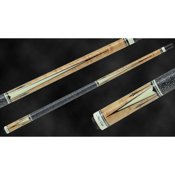 MEZZ Pool Cues - AXI Series - AXI-157 - WX700 Shaft, Wavy Joint = absolute cues