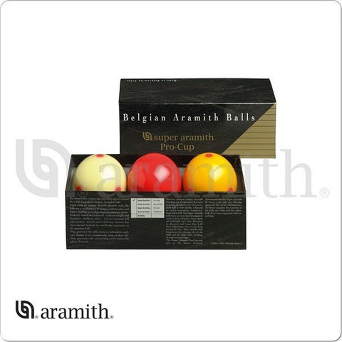 Aramith Billiards Balls - BBARC - Super Pro Cup Carom Set - absolute cues