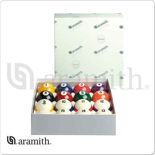 Aramith Billiards Balls - BBCB - Crown Standard Ball Set - absolute cues