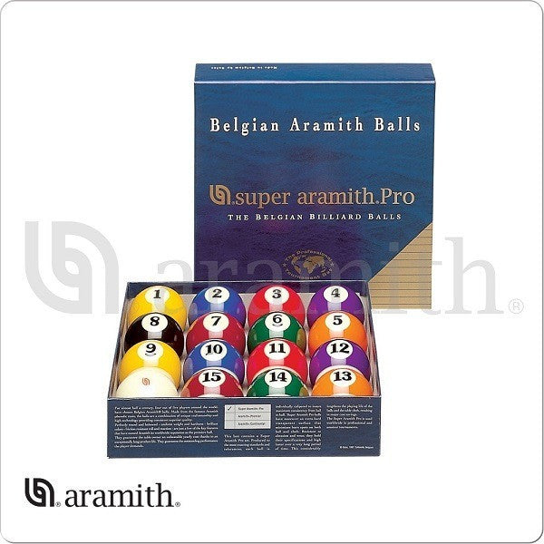 Aramith Billiards Balls - BBSAP - Pro Ball Set - absolute cues