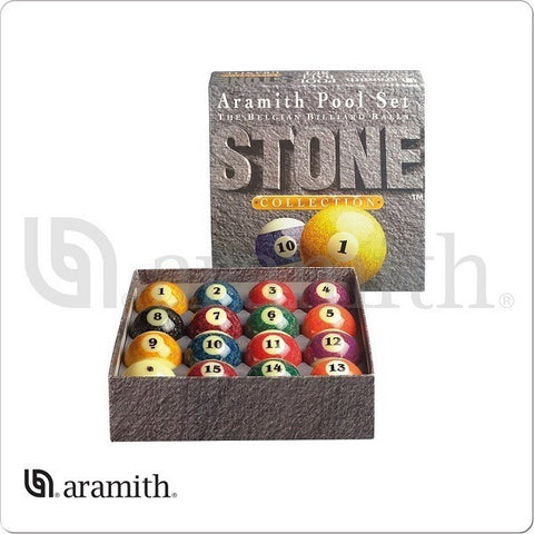 Aramith Billiards Balls - BBSTN - Stone Ball Set - absolute cues