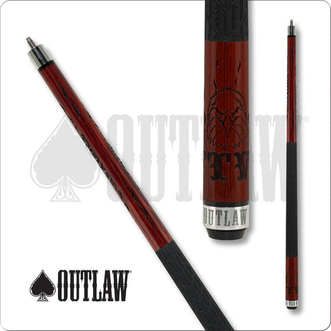 Outlaw Pool Cue - Break Cue - OLBK02 - Outlaw Break - Cherry - FTW - absolute cues