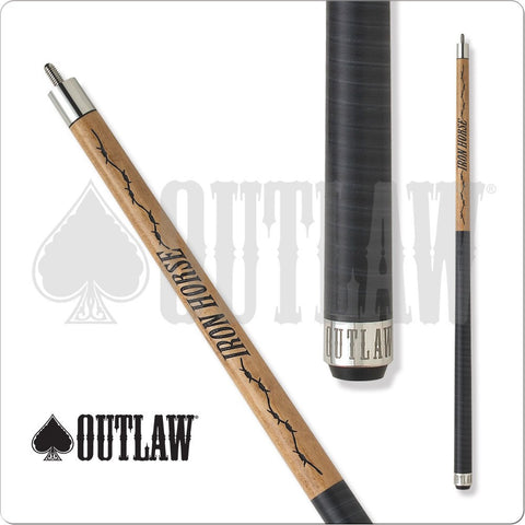 Outlaw Pool Cue - Break Cue - OLBK01 - Outlaw Break - Iron Horse - absolute cues