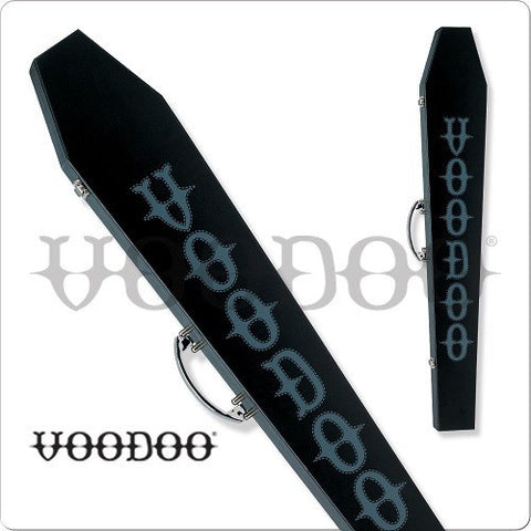 Voodoo - VODCOF - 1x1 Coffin Box Pool Cue Case - absolute cues