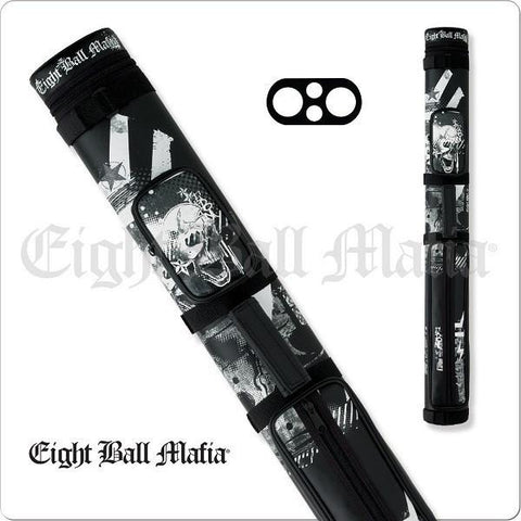Action Eight Ball Mafia - 2x2 - EBMC22B - Billiards Hard Cue Case - absolute cues