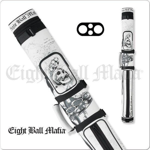 Action Eight Ball Mafia - 2x2 - EBMC22E - Billiards Hard Cue Case - Absolute cues
