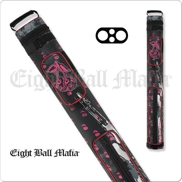 Action Eight Ball Mafia Case - 2x2 - EBMC22G - Billiards Hard Cue Case - absolute cues