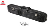 Elite Pool Cue Case - 4x8 - Vintage Black Soft Case
