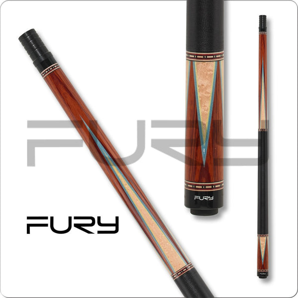 Fury Pool Cues - HTE Hybrid Shaft - Fury CI01 - Low Deflection Cue - absolute cues