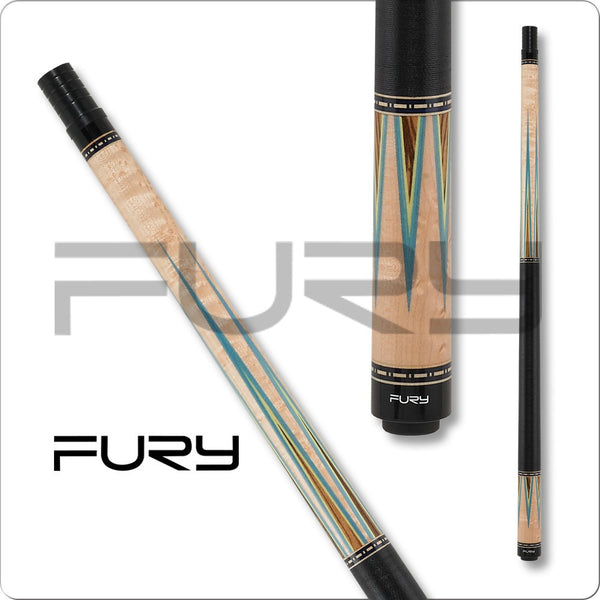 Fury Pool Cues - HTE Hybrid Shaft - Fury FUCI04 - Low Deflection Cue - absolute cues