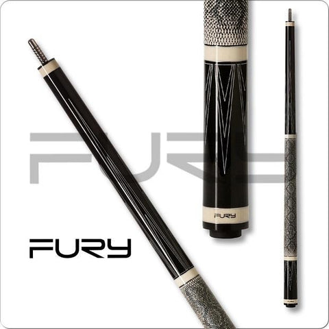 Fury Pool Cues - LA Series - LA-2 - HTE Shaft - absolute cues