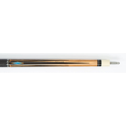 Jacoby Pool Cues Hb5 Olivewood W Black Leather Wrap Low