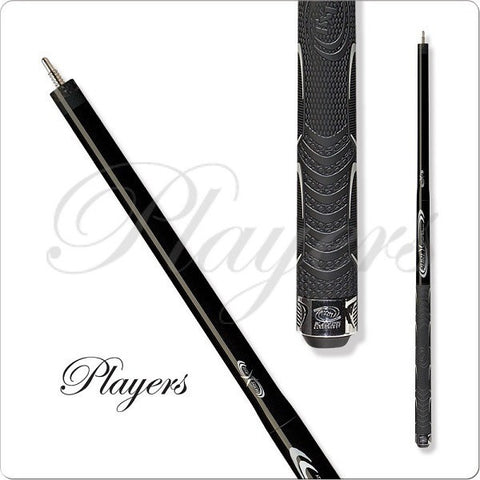 Players Cues Pure X  - HXTP1 - Break Jump Pool Cue - Black - absolute cues