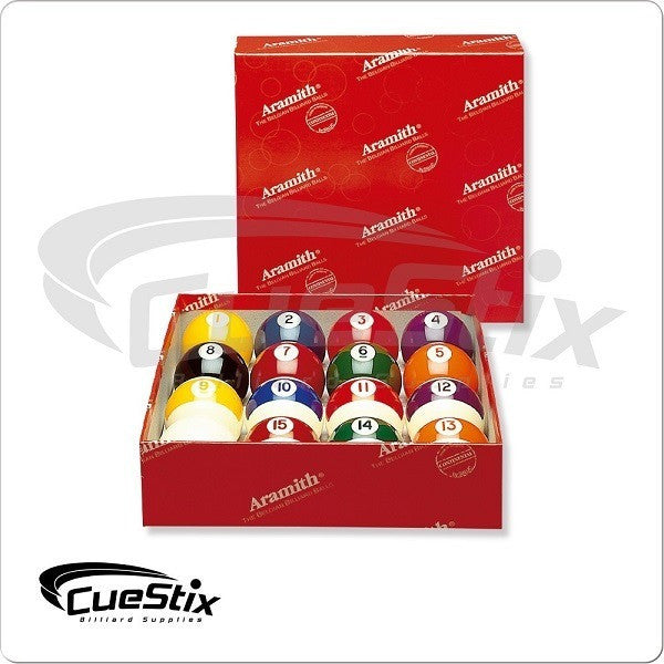 Aramith Billiards Balls - BBCONT - Continental Ball Set - ABSOLUTE CUES