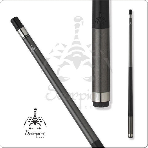 Scorpion Pool Cues - Sports Grip - GRP15 - Graphite Painted - absolute cues