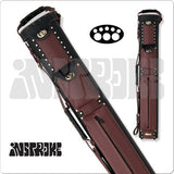 InStroke Pool Cue Case - ISC35 Cowboy - 3x5 - Leather Case - absolute cues