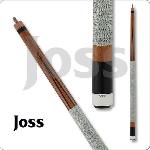 Joss Pool Cues - JOS Series - JOS49 - Sucupira Lacewood Points - absolute cues