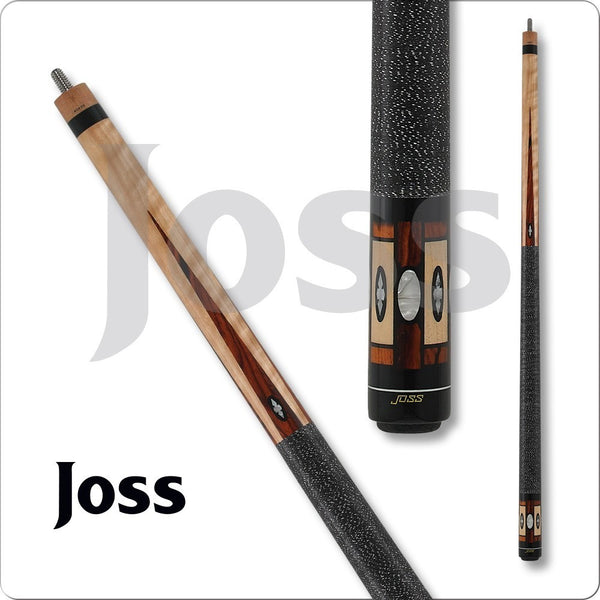 Joss Pool Cues - JOS Series - JOS50 - Black with Cocobolo