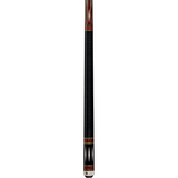 Lucasi Pool Cue - Custom Series - LZC39 - Black, Cocobolo, Diamonds - absolute cues