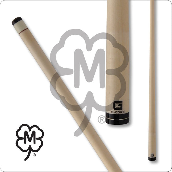 McDermott Pool Cue Shaft - G-Core - Black Collar With Gold Ring - absolute cues