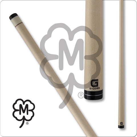 McDermott Pool Cue Shaft - G-Core - Black Collar and a Silver Ring - absolute cues