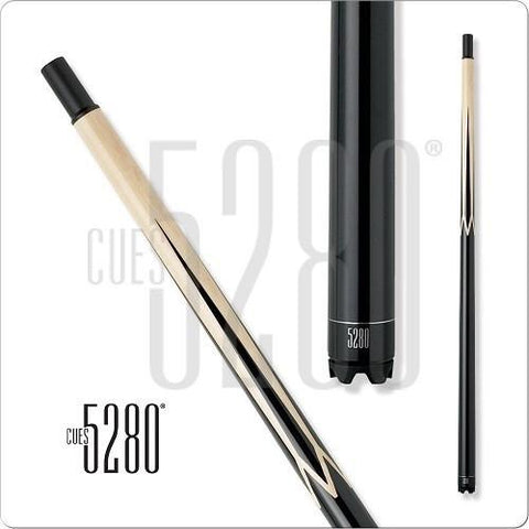 5280 Pool Cues - Pool Cue - MHSP - Ebony Stained - Quick Release - absolute cues