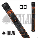 Outlaw Pool Cue Case - OLB22F - 2x2 - Stitch Bullet Hole - absolute cues