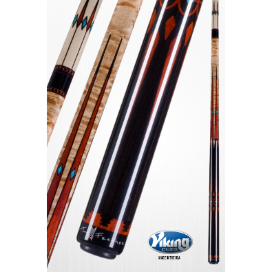 Viking Elite Class, LTD Edition - Control & Accuracy TF-WW Pool Cue - www.absolutecues.com