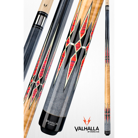 Valhalla Pool Cues - VA941 - By Viking Cues - No Wrap - Free Case - absolute cues