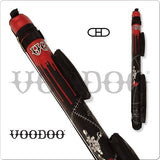Voodoo - VODC22A - 2x2 - Stitch Voodoo Hard Pool Cue Case