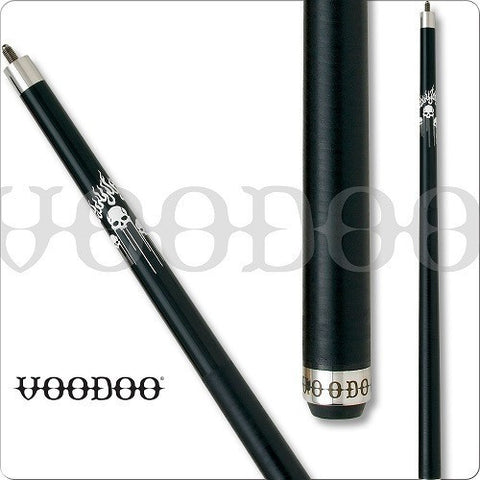 VooDoo Pool Cues - Break Cue - VODBRK - Skulls and Flames - absolute cues