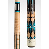 Elite Viking Limited Edition Pool Cue TF-WOLF - Low Deflection - ViKORE - www.absolutecues.com
