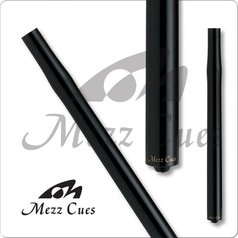 MEZZ Cues - Jump Cue - Airshooter - AS-k - Wood Joint, Black Ingot Tip - absolute cues