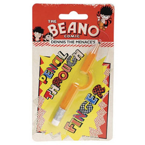Pencil Through Finger - Beano Shop