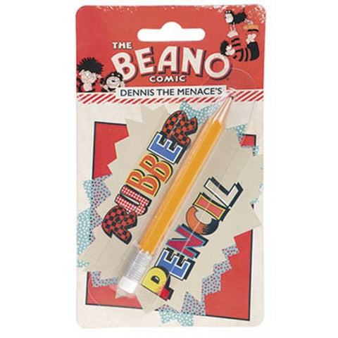 Rubber Pencil - Beano Shop