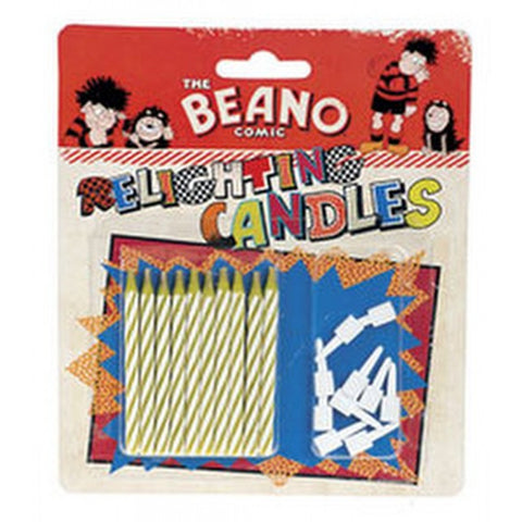 Relighting Candles - Beano Shop
