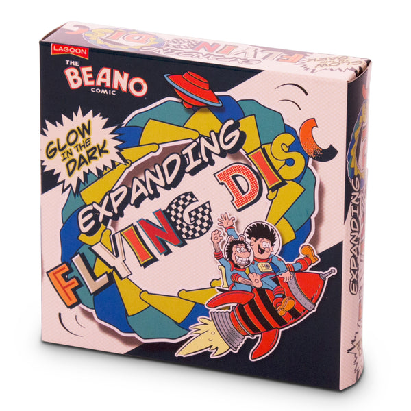 Beano Glow-In-The-Dark Frisbee - Beano Shop