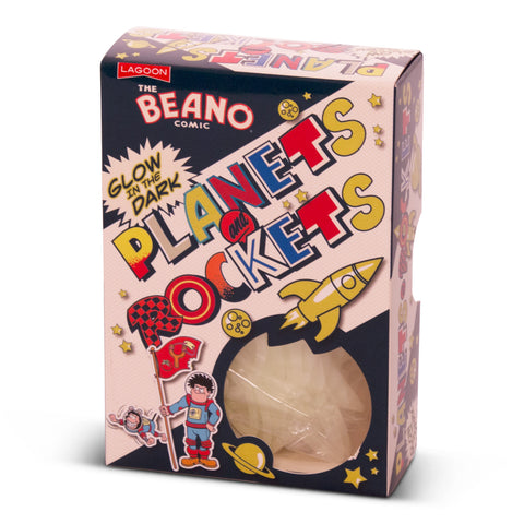 Beano Glow-In-The-Dark Planets and Rockets - Beano Shop