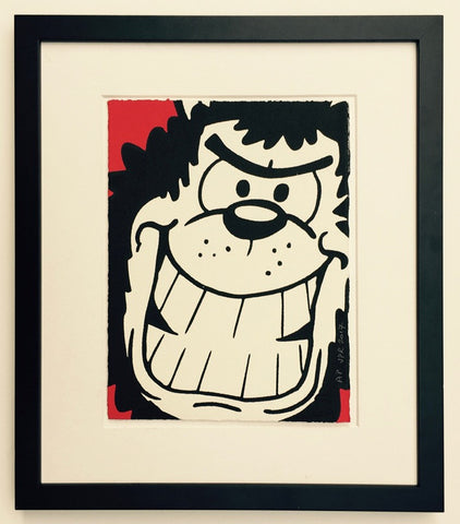 New Gnasher Grins Print - Beano Shop