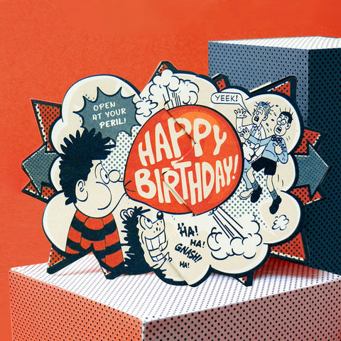 Dennis Bubblegum Beano Surprise Card - Beano Shop