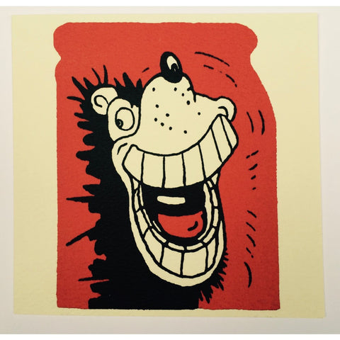 Gnasher Grins Greeting Card - Beano Shop