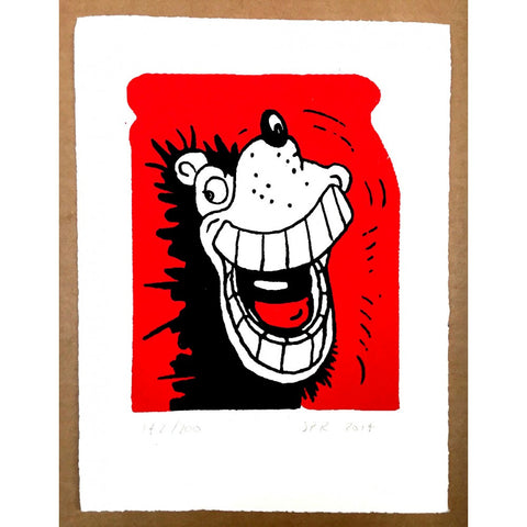 Gnasher Grins Print - Beano Shop