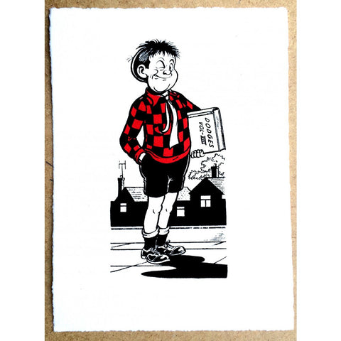 Roger the Dodger Winks Print - Beano Shop
