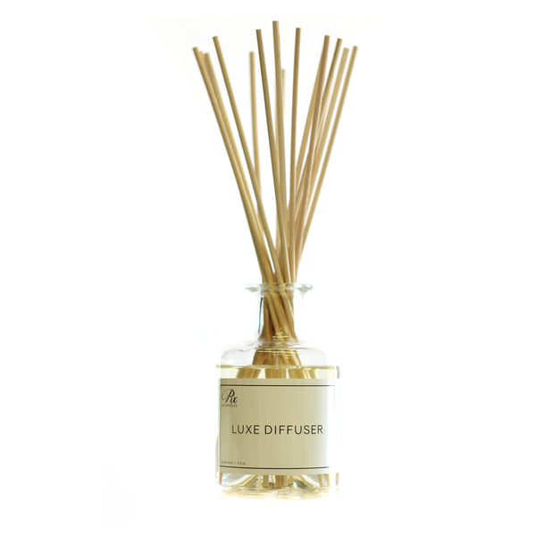 scented diffuser with black reeds