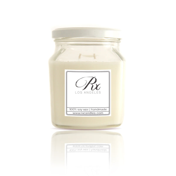 Handmade Natural Soy Wax Cotton Wick Rx Candles